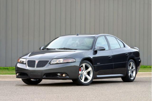 2002 Pontiac Bonneville GXP concept