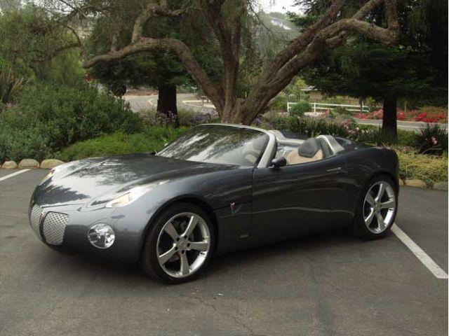 2002 Pontiac Solstice concept