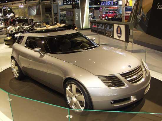 2002 Saab 9-X concept