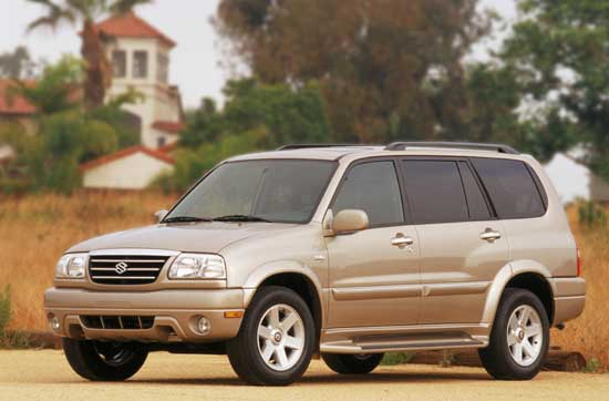 2002 Suzuki XL7 Review, Ratings, Specs, Prices, and Photos - The Car
