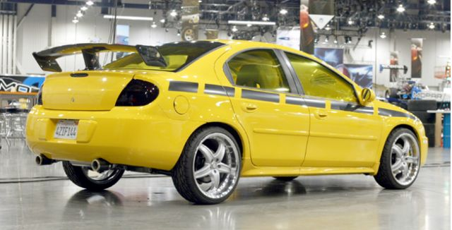 2002 Wings West Dodge Neon R/T Compact Performance concept
