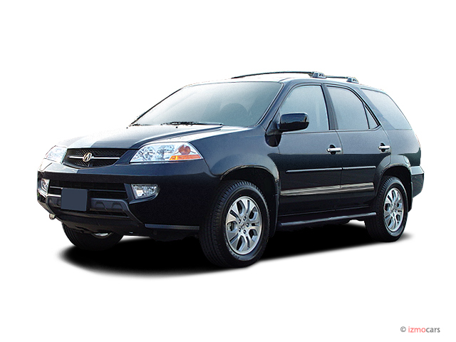 2003 Acura MDX 4-door SUV Touring Pkg Angular Front Exterior View
