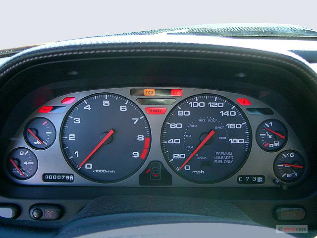 2004 acura nsx-t 3.0l open top
