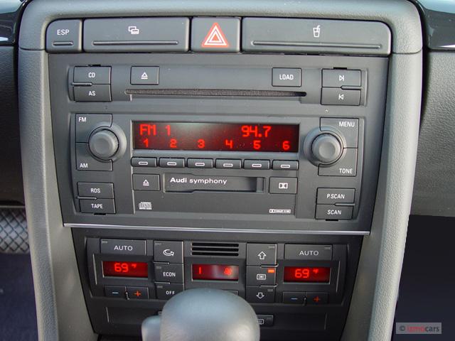 image 2003 audi a4 4 door sedan 1 8t quattro awd auto. Black Bedroom Furniture Sets. Home Design Ideas
