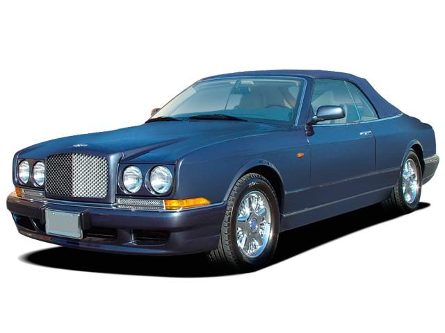 2009 Bentley Azure 2-door Convertible Angular Front Exterior View