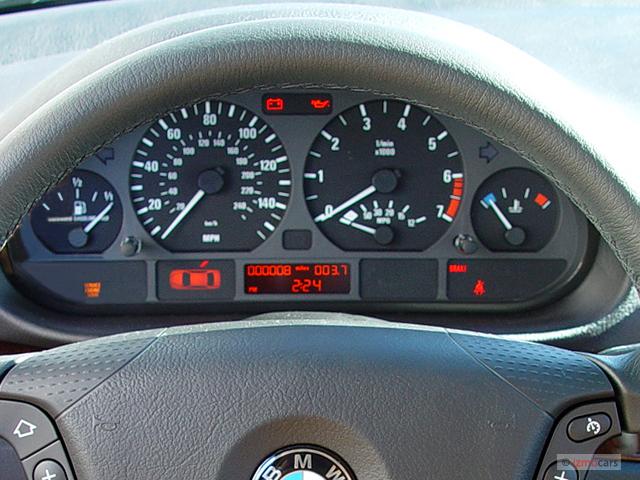 Image BMW Series Xi Door Sedan AWD Instrument Cluster - Bmw 325xi awd