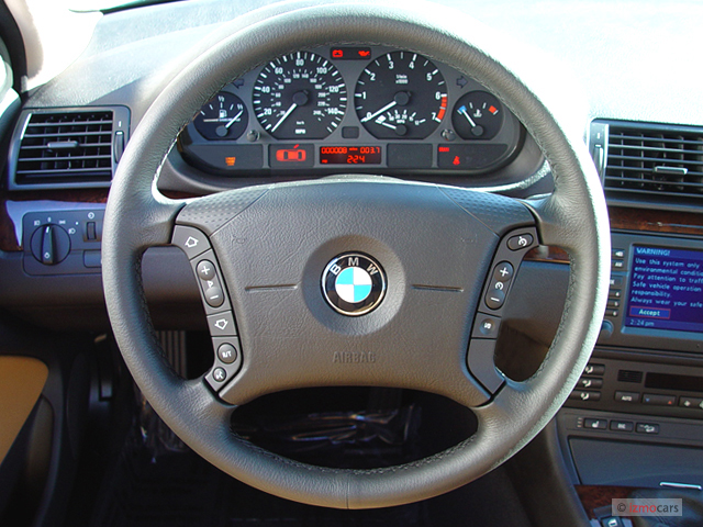 Image BMW Series Xi Door Sedan AWD Steering Wheel - Bmw 325xi awd