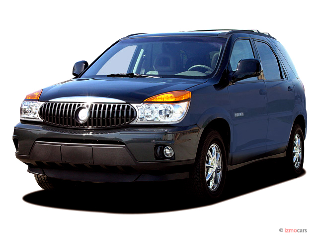 2003 Buick Rendezvous CXL FWD Angular Front Exterior View