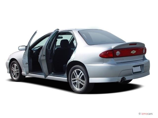 2004 Chevrolet Cavalier 4 Door Sedan LS Sport Open Doors