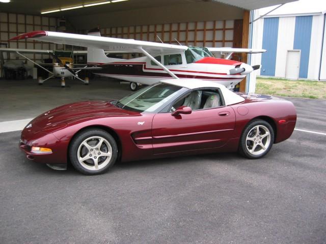 2003 50th Anniversary Chevrolet Corvette, eBay auction