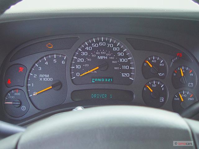 """Image: 2003 Chevrolet Silverado 1500HD Crew Cab 156.0"""" WB ..."""