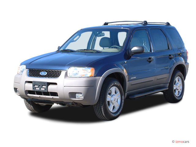 "2003 Ford Escape 4-door 103"" WB XLS Popular Angular Front Exterior View"