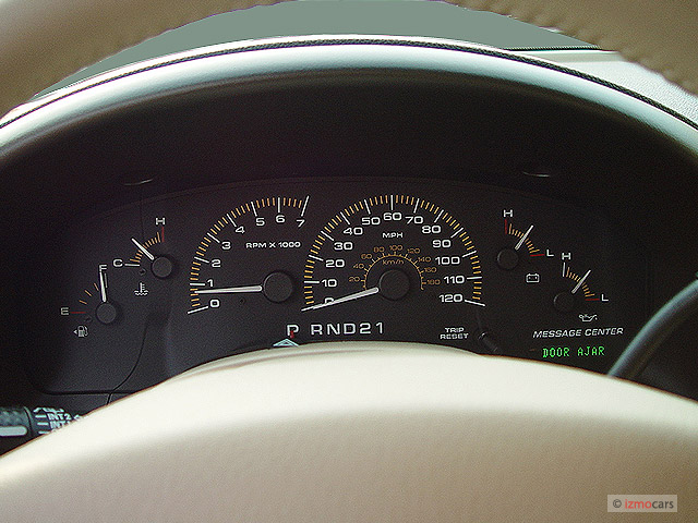 Image 2003 Ford Expedition 4 6l Eddie Bauer Instrument