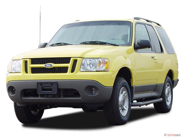 "2003 Ford Explorer Sport 2-door 102"" WB XLT Premium Angular Front Exterior View"