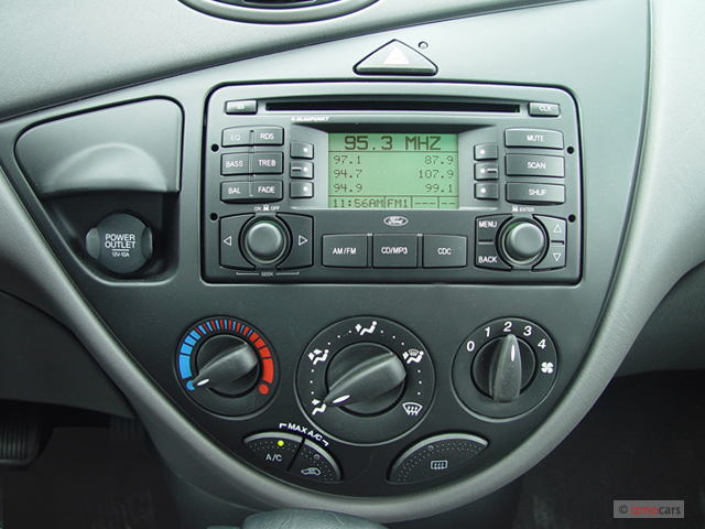 Image: 2003 Ford Focus 4-door Wagon SE Instrument Panel, size: 640 x 480, type: gif, posted on ...