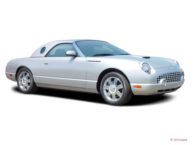 2005 Ford Thunderbird 2-door Convertible Deluxe Angular Front Exterior View