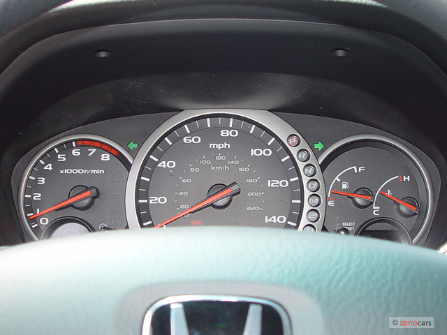 Used Honda Civic Coupe >> Image: 2003 Honda Pilot 4WD EX Auto Instrument Cluster, size: 640 x 480, type: gif, posted on ...