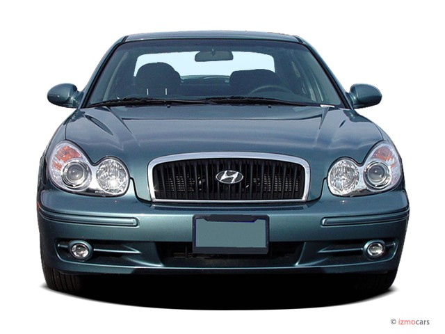 Image 2005 Hyundai Sonata 4 Door Sedan Gl I4 Auto Front