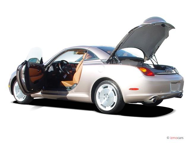 2003 Lexus Sc 430 2 Door Convertible Open Doors