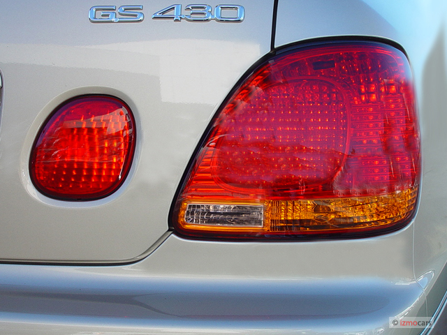 Image: 2003 Lexus GS 430 4-door Sedan Tail Light, size ...