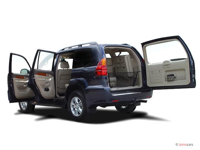Image 2003 Lexus GX 470 4 Door SUV 4WD Open Doors Size