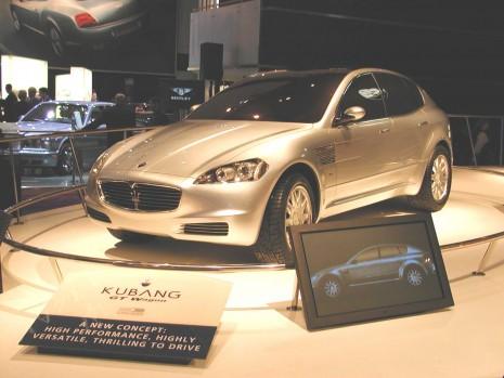 2003 Maserati Kubang concept, Detroit Auto Show