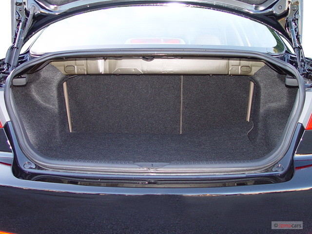 Image 2003 Mazda Mazda6 4 Door Sedan S Auto V6 Trunk