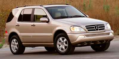 Mercedes ml 2003