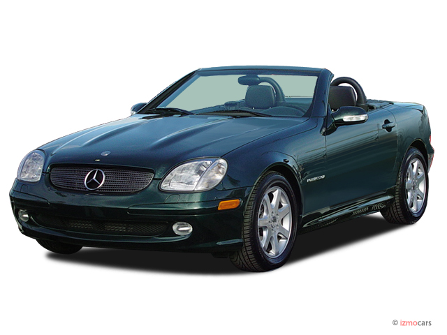 2003 Mercedes-Benz SLK Class 2-door Kompressor Roadster 2.3L Angular Front Exterior View