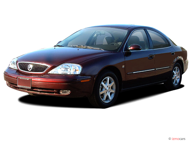 2003 Mercury Sable 4-door Sedan LS Premium Angular Front Exterior View