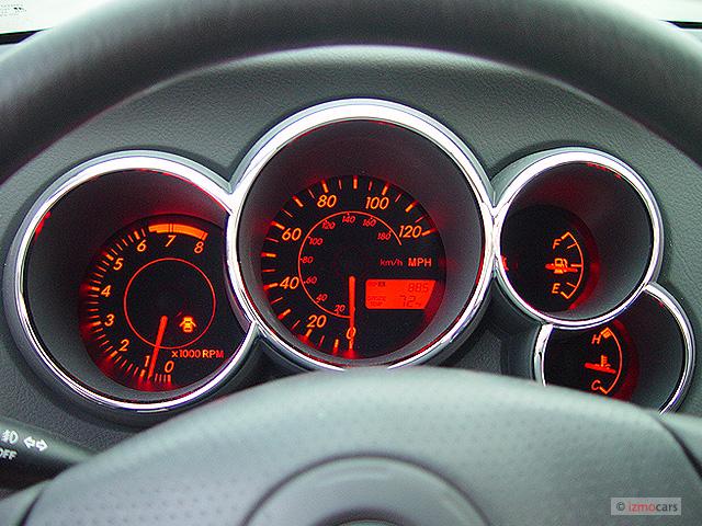 Image: 2003 Pontiac Vibe 4-door HB Instrument Cluster ...