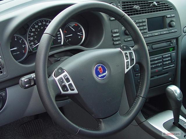 Image: 2003 Saab 9-3 4-door Sedan Vector Steering Wheel ... - photo#42