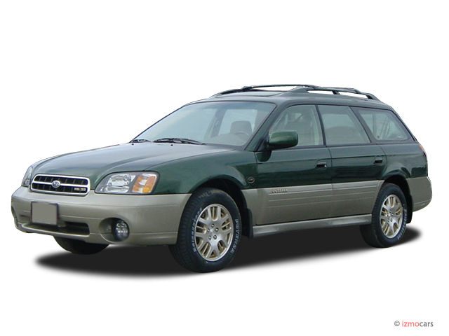 2003 Subaru Legacy Wagon 5dr Outback H6 L.L. Bean Edition Angular Front Exterior View