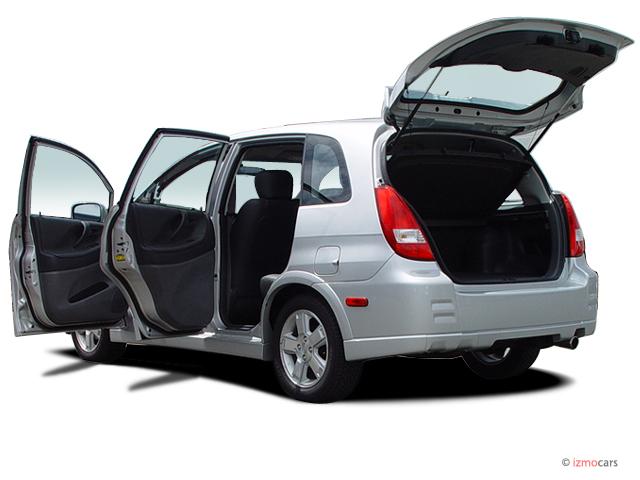 Image: 2003 Suzuki Aerio 4-door Wagon SX 2.0L Manual Open ...