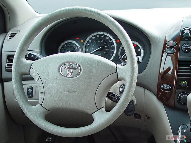 image 2005 toyota sienna 5dr le fwd 8 passenger natl steering wheel size 640 x 480 type. Black Bedroom Furniture Sets. Home Design Ideas