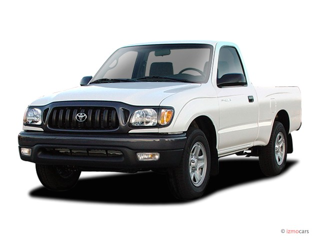 2003 Toyota Tacoma Reg Cab Manual (Natl) Angular Front Exterior View
