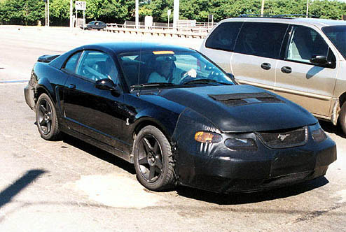 Hyundai Santa Fe 2019 Spy Shot >> Image: 2003 Ford Mustang Terminator spy shot, size: 494 x 332, type: gif, posted on: December 31 ...