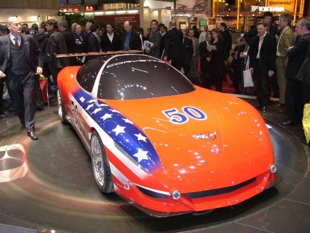 2003 Giugiaro Corvette Moray concept
