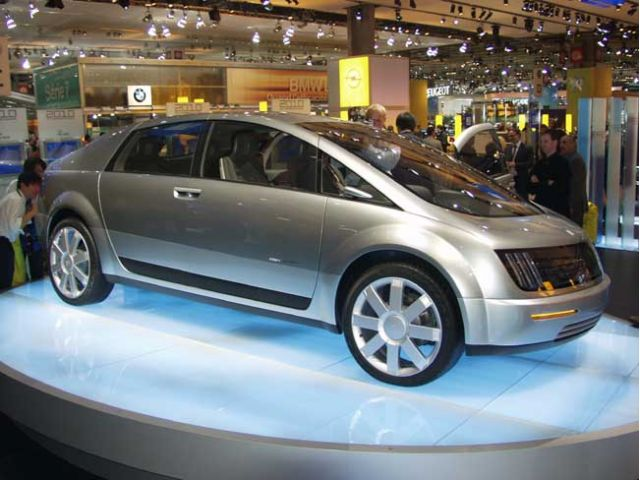 2003 GM Hy-Wire concept