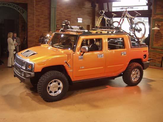 2003 Hummer SUT Concept