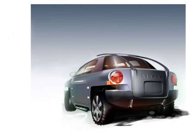2003 Hyundai OLV concept