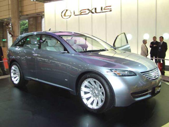 2003 Lexus LF-X concept