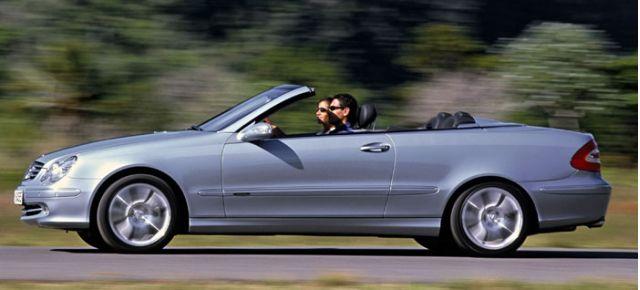 2003 Mercedes-Benz CLK Cabriolet