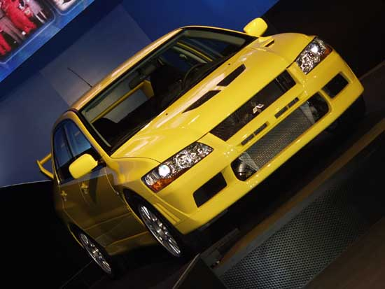 2003 Mitsubishi Lancer Evolution VII