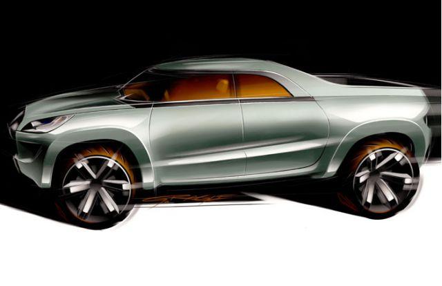 2003 Mitsubishi Sport Truck concept