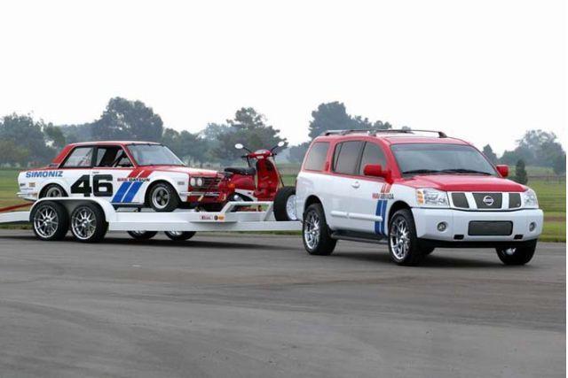 2003 Nissan WAV Pathfinder Armada concept
