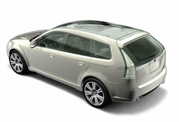 2003 Saab Sport-Hatch Concept