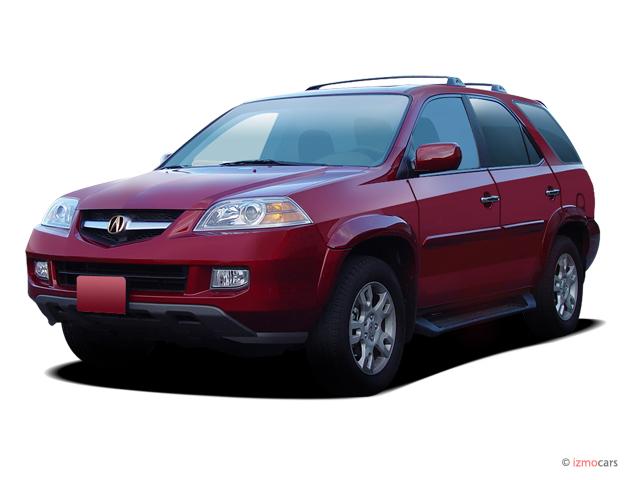 2004 Acura MDX 4-door SUV Touring Pkg w/Navigation Angular Front Exterior View