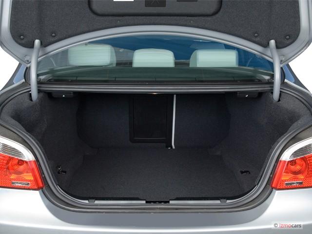 Image 2006 Bmw 5 Series M5 4 Door Sedan Trunk Size 640