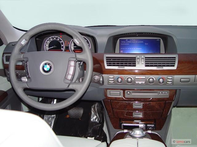 Image BMW Series Li Door Sedan Dashboard Size X - 2004 bmw 750i